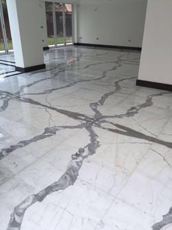 clalacatta marble floor (8)
