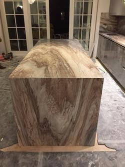 Palisandro marble kitchen worktop in London  (2)