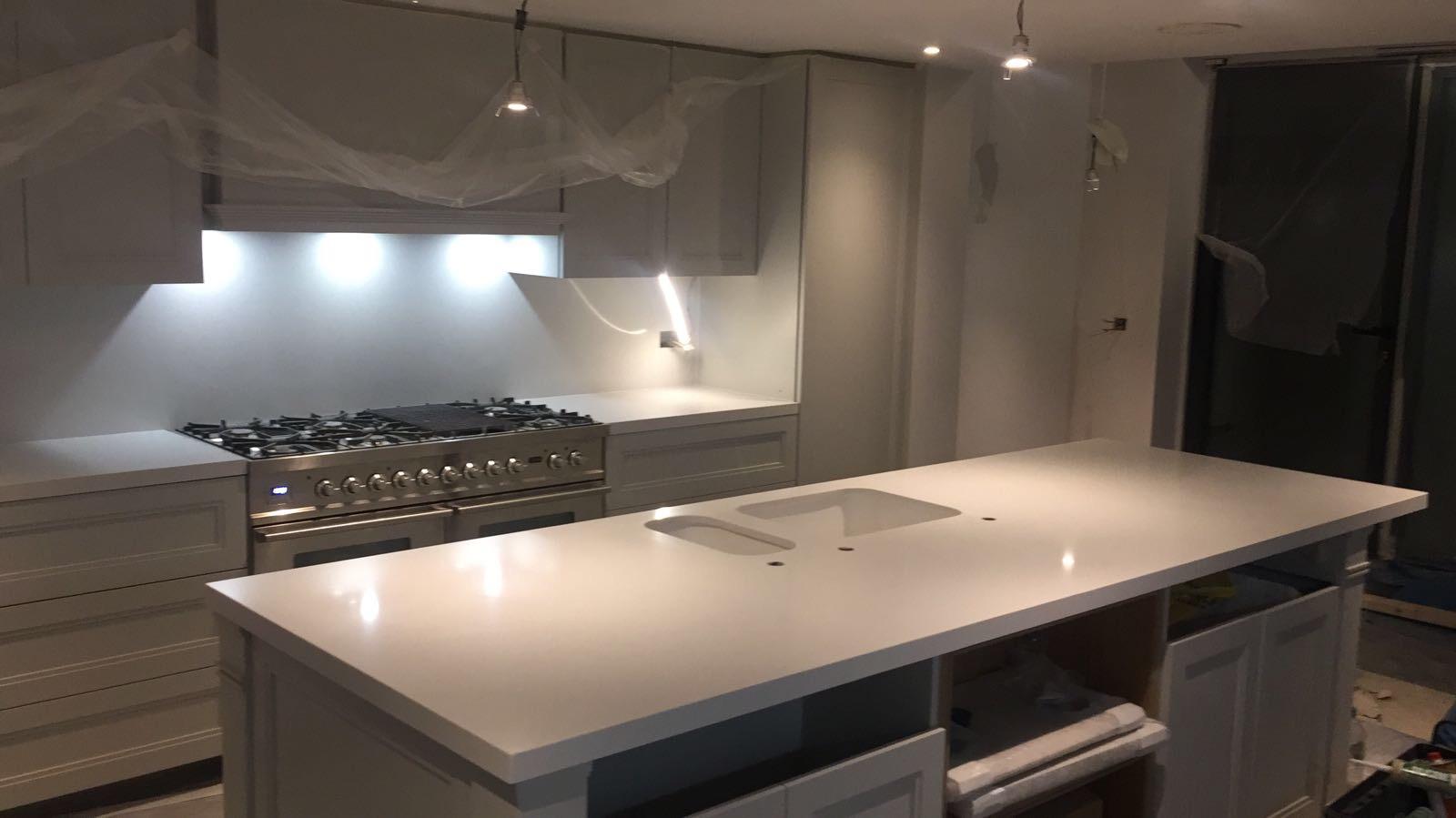 compac carrara mitred 40mm quartz kitchen  (2)