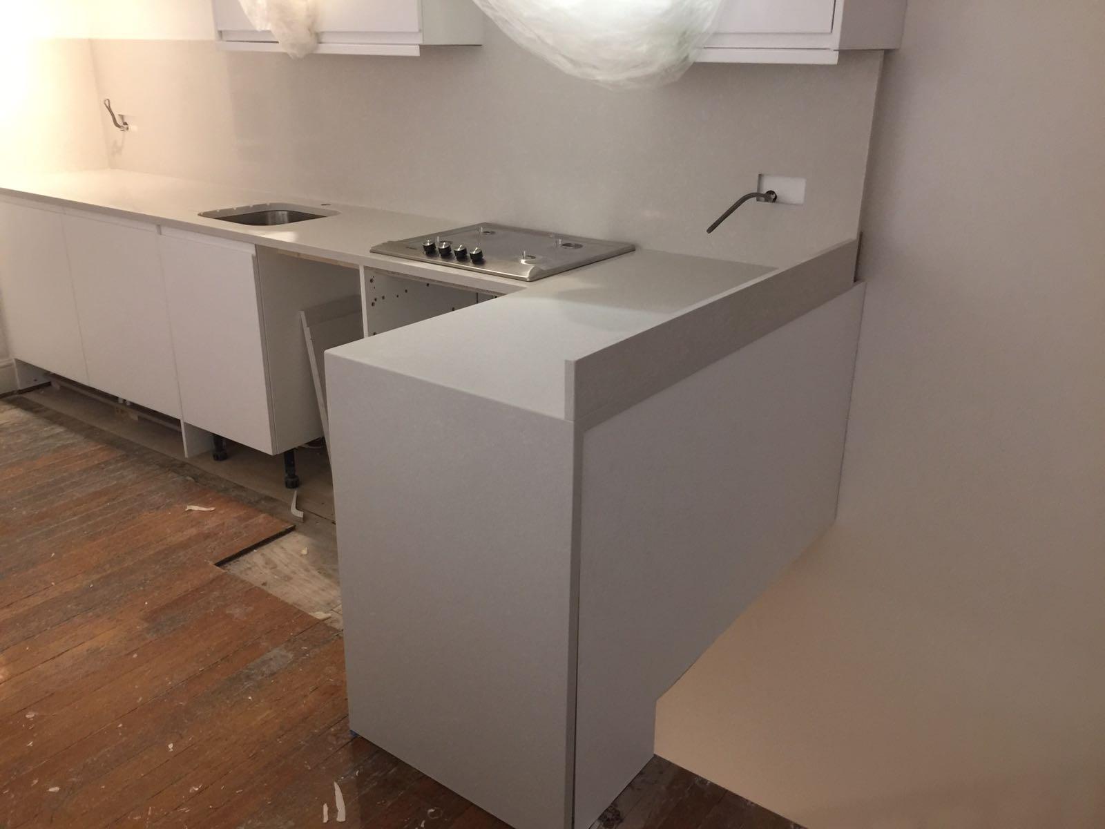 QuartzForms Kitchen worktop Grey  (3)