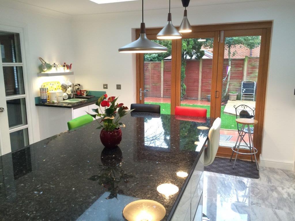 Emerald Pearl Granite Worktop in London  (2)