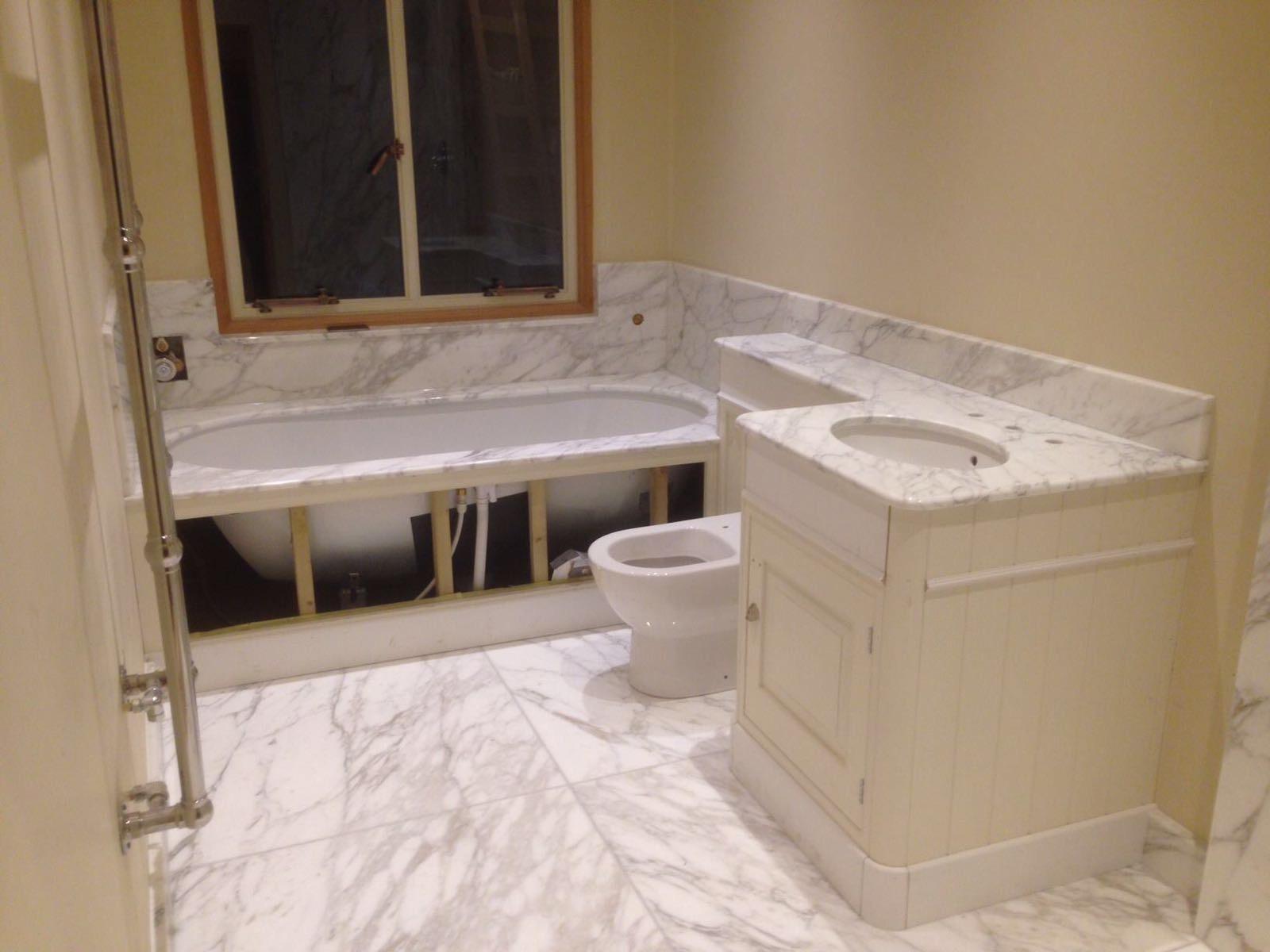 Arabescato bathroom  (4)