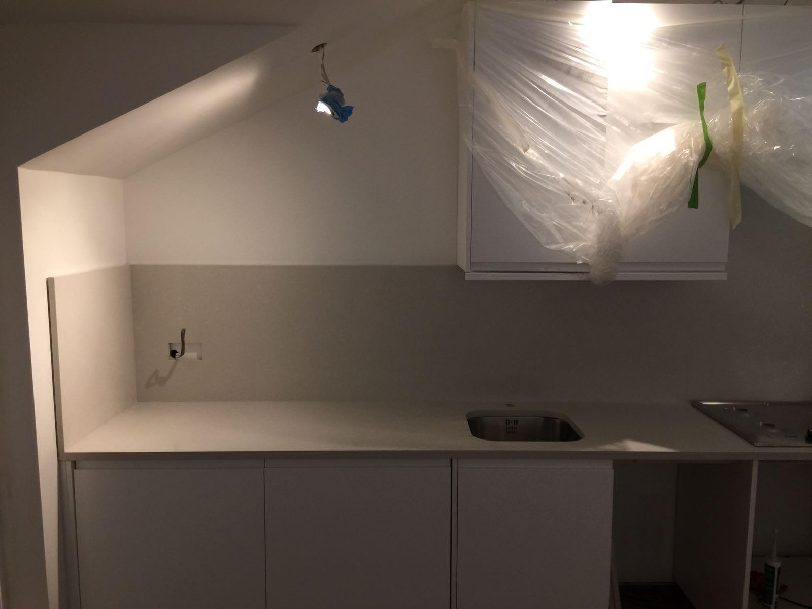 QuartzForms Kitchen worktop Grey  (1)