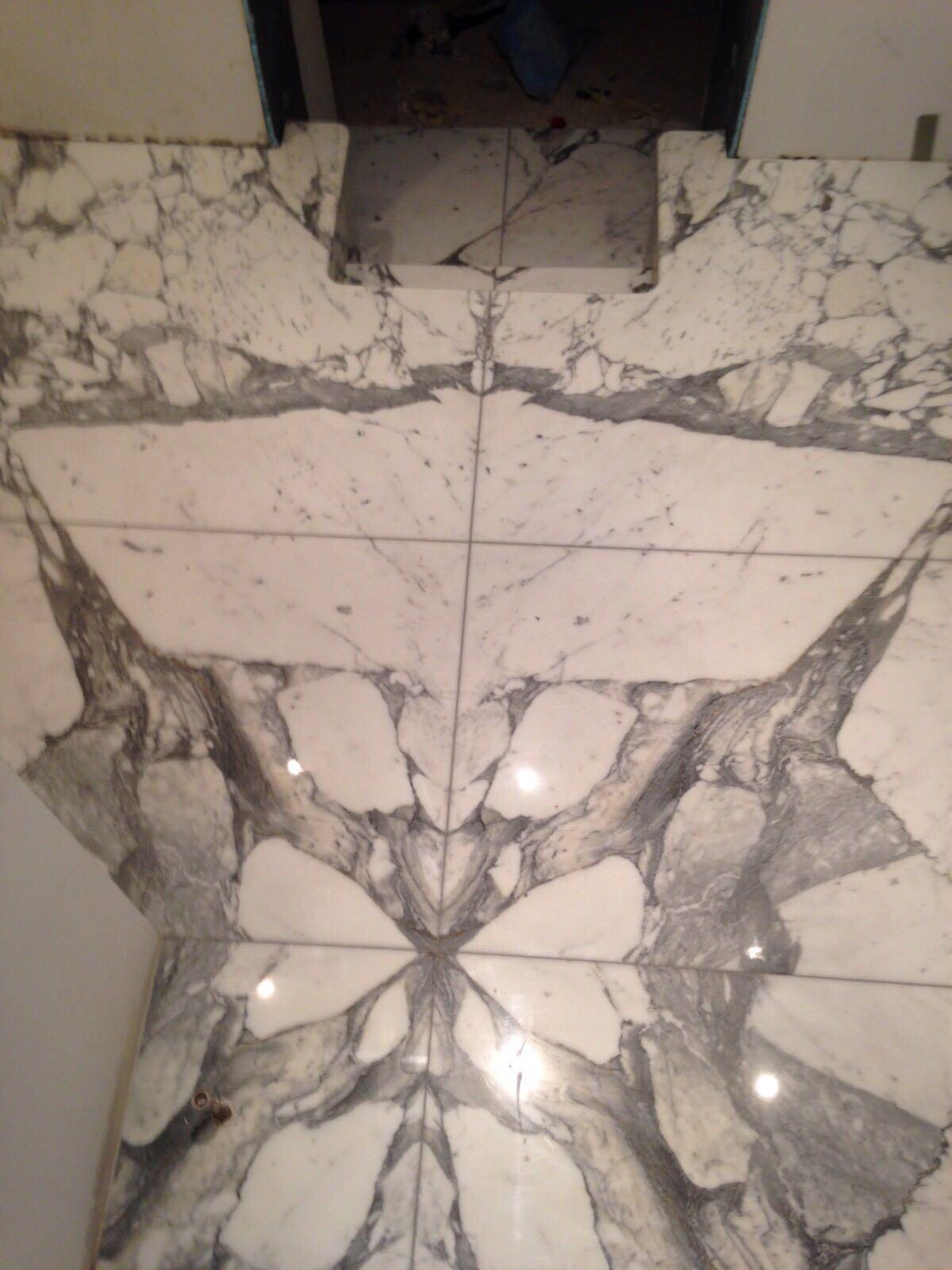 arabescato bathroom (6)