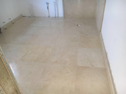 Crema Marfil bathroom cladding and flooring (1)