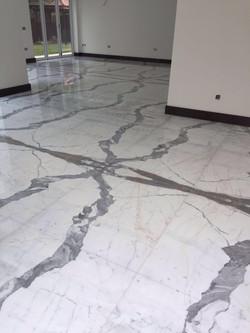 clalacatta marble floor (4)