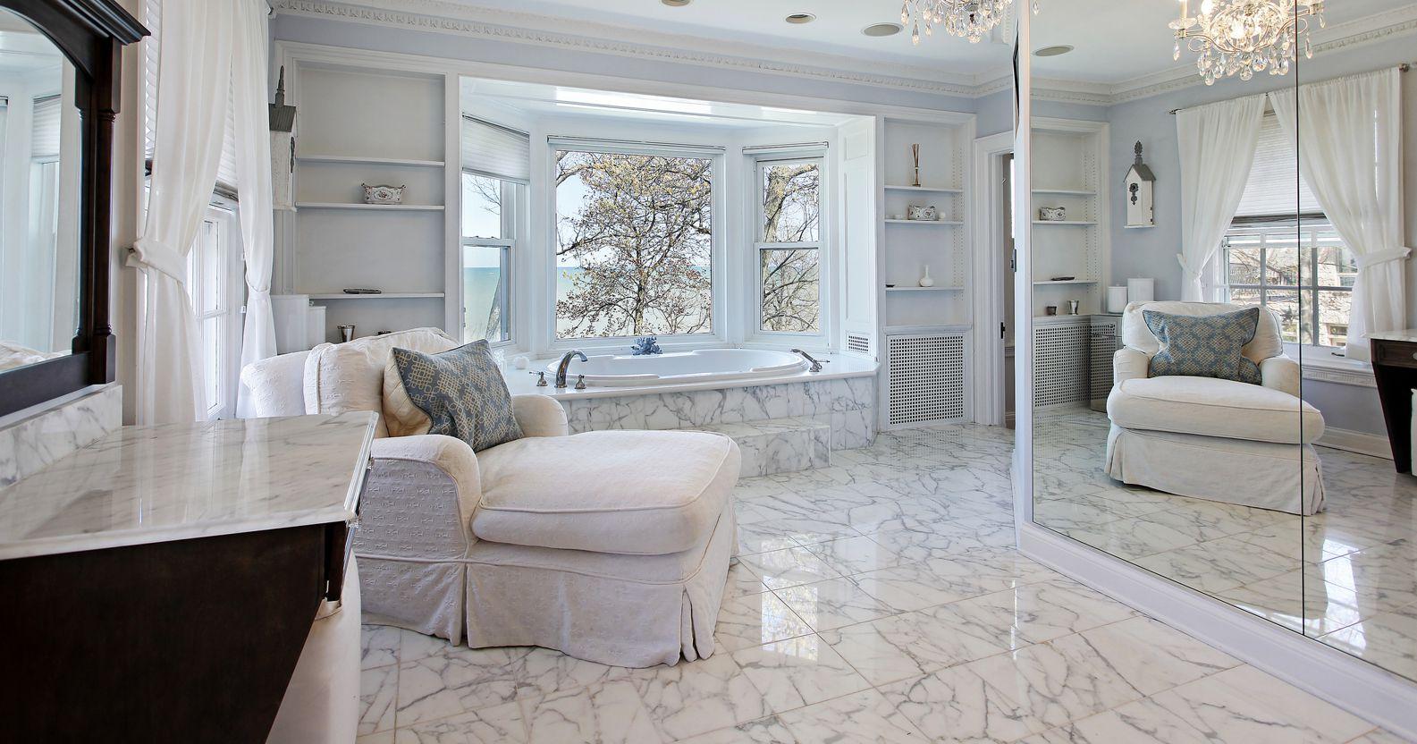 masterbathroom clalacata marble near london