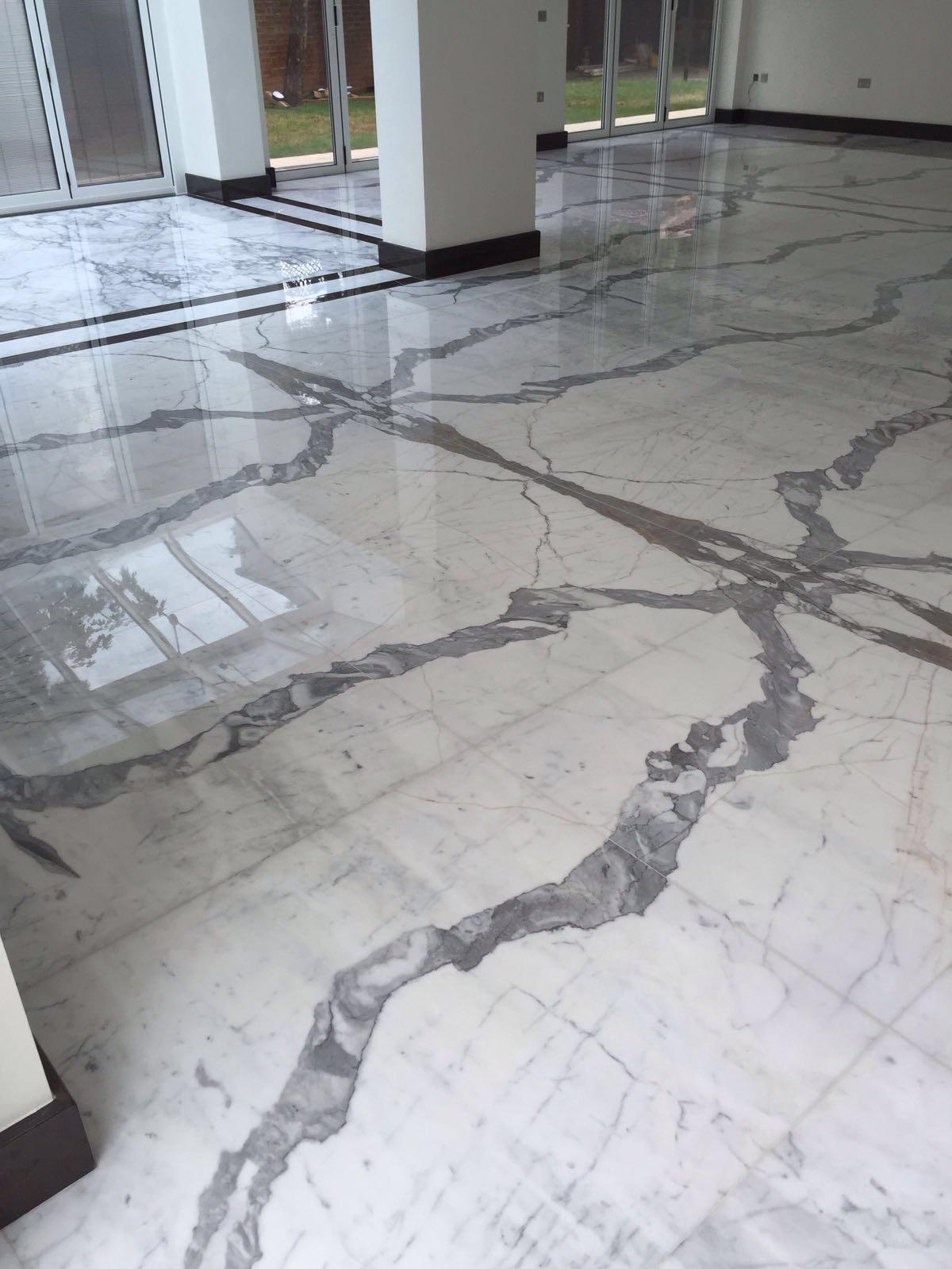 clalacatta marble floor (7)