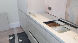 Calacatta Quartz kitchen top  (5)