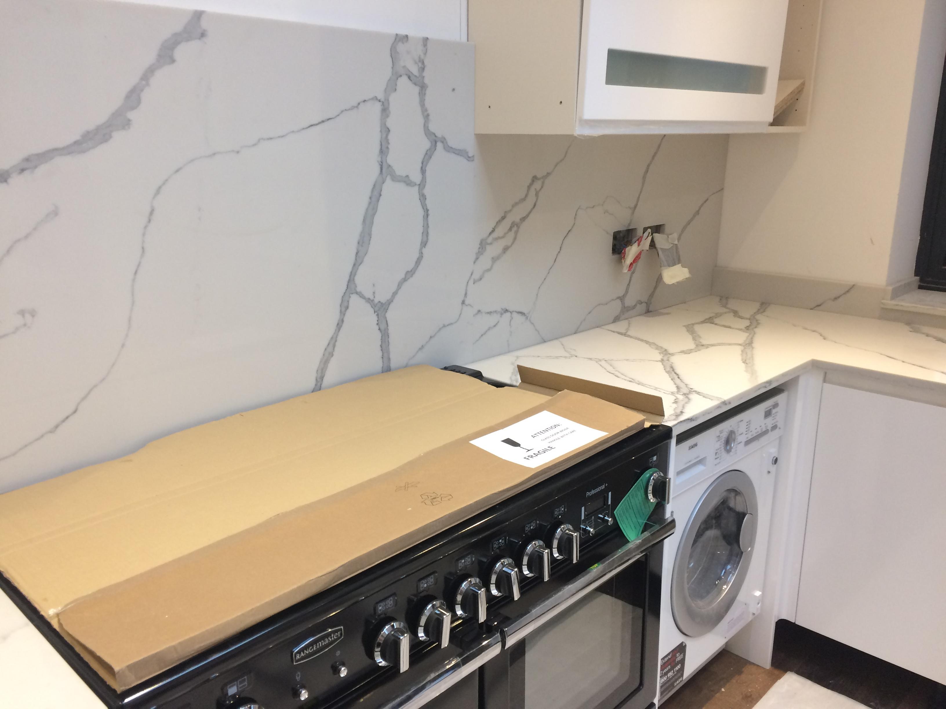 Statuario Quartz Kitchen top (3)