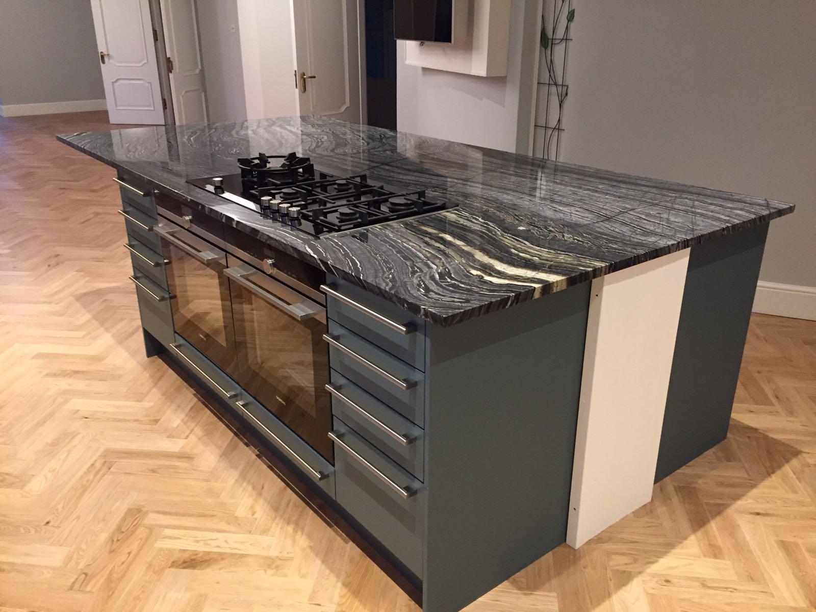 Silver Wave granite kitchen top (8)