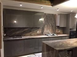 Palisandro marble kitchen worktop in London  (3)