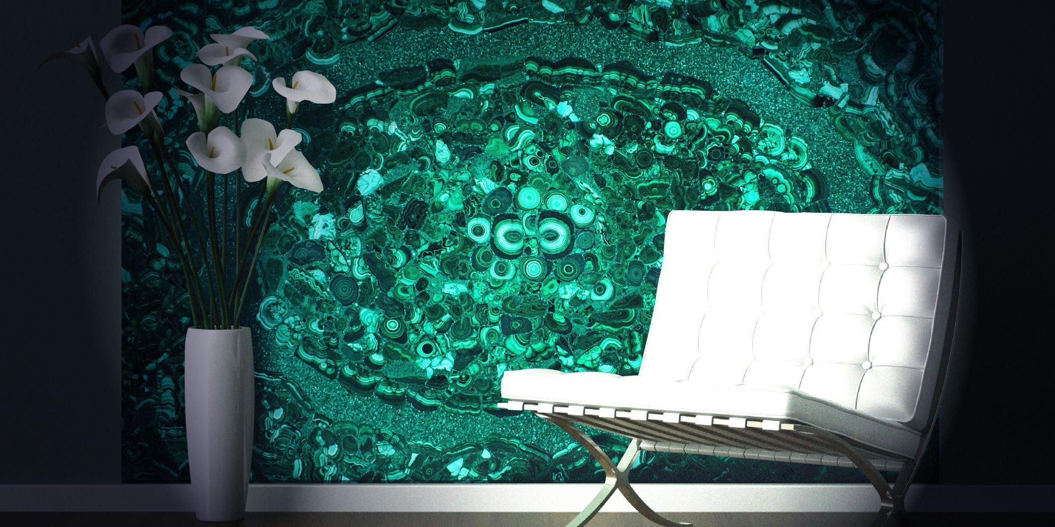 malachite special design decorative wall