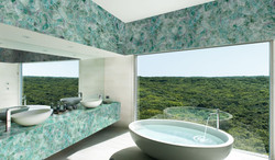 fluorite bathroom