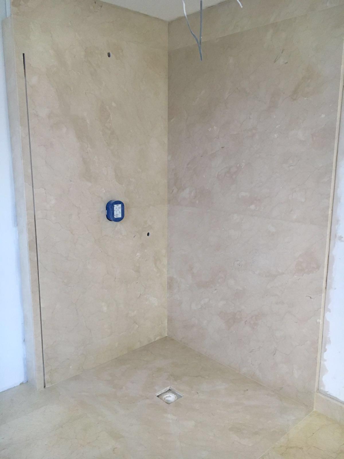 Crema Marfil bathroom cladding and flooring (2)