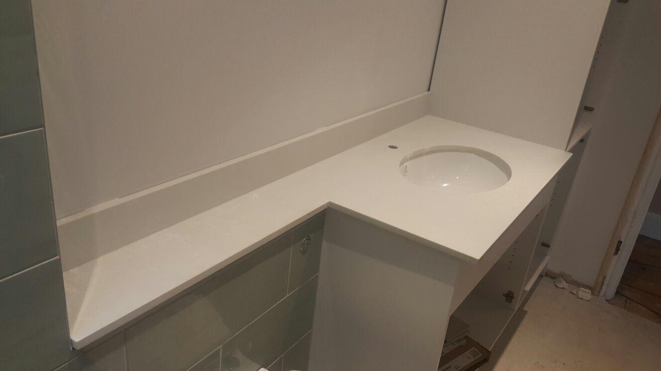 Carrara Quartz Vanity tops  (1)