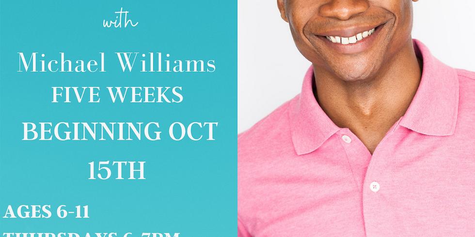 Movement for Actors & Vocalists w/ Michael Williams