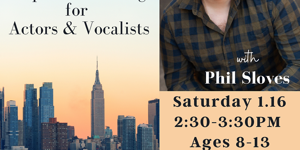 DROP IN Tap Conditioning for Actors & Vocalists w/ Phil Sloves