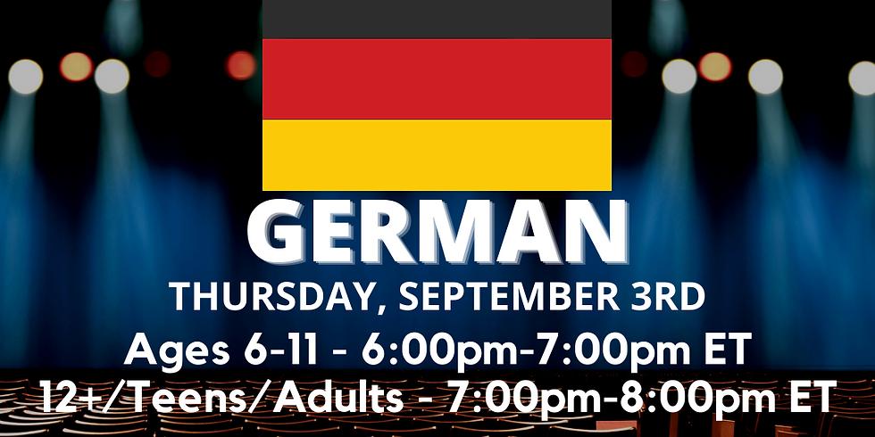 Dialects w/Sam Lilja- German!
