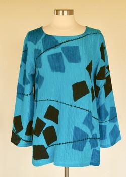 Turquoise  Mosaic Tunic