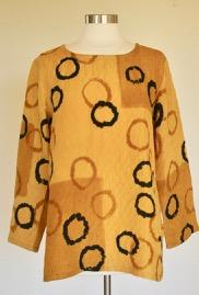 Gold Circles Tunic