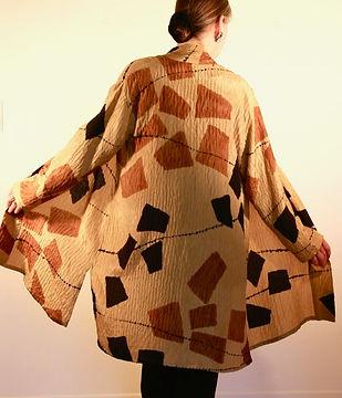 Bronze Kimono Coat
