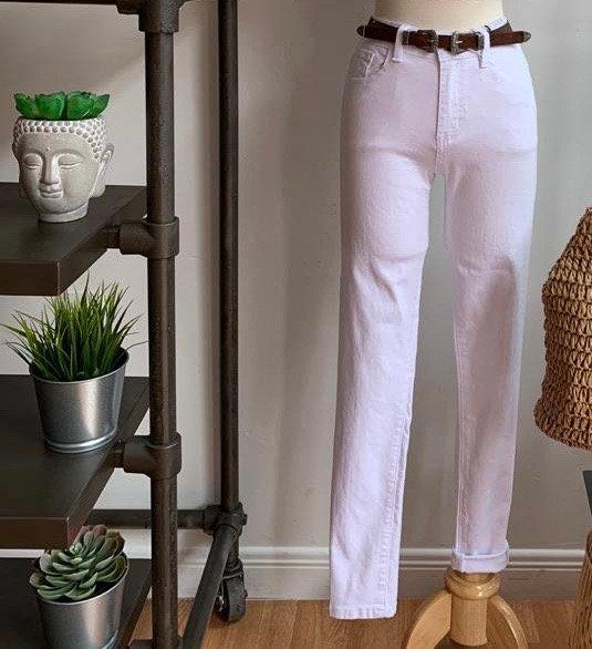 White Highwaist Jeans
