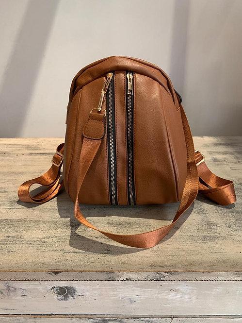Two Zipper Backpack