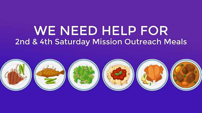 Missions Outreach Meals