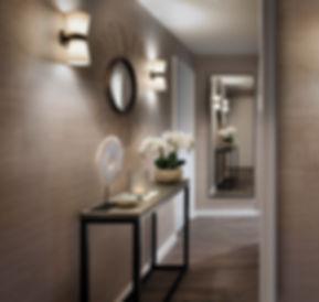 Hallway inerior design