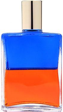 B072 《クラウン(ピエロ)》 ブルー/オレンジの意味・診断・効果。