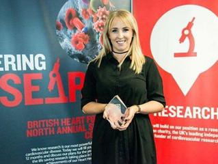 Lizzie Jones recognised with a Heart Hero Award