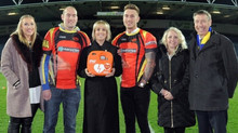 Hillsborough Hawks take heart at receiving first 'DJ' defibrillator