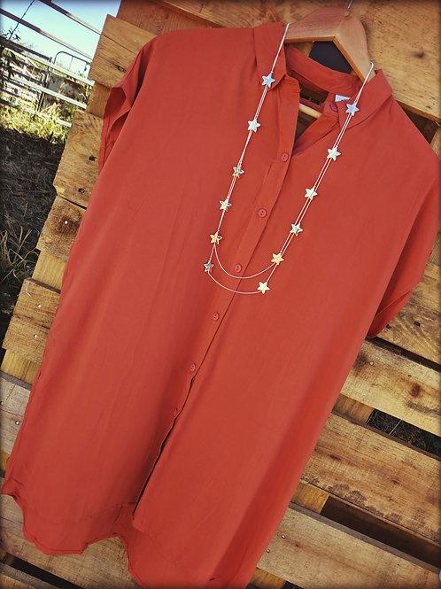 Rusty Tunic Dress