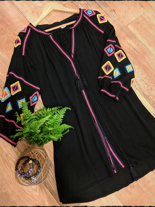 Aztec Print Tunic/Dress