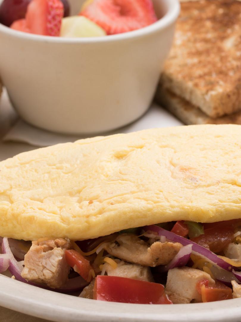 CBH Spicy Chicken omelette