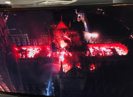 DJI dronet Notre Damen pelastustöissä
