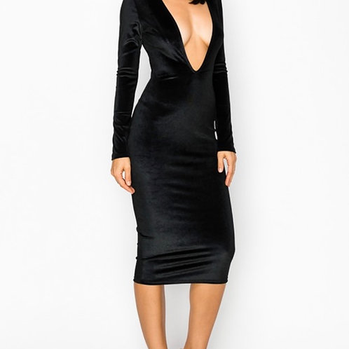 Bawdy Dress- Black