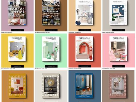 İç mimari ve tasarım dünyasının trendlerini takip etmek için öneri;