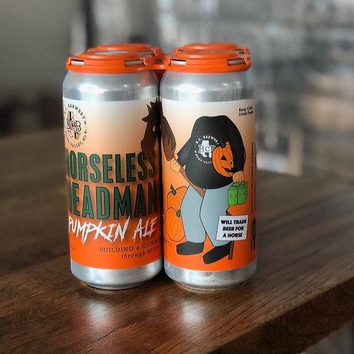Headless Horseman Pumpkin Beer