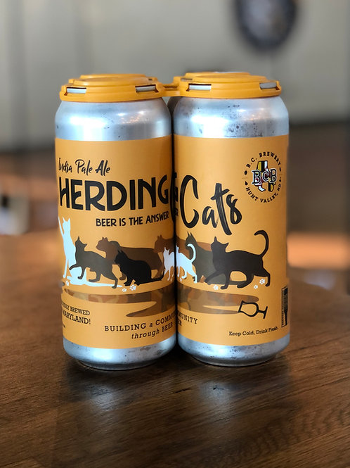 a 4 pack of herding cats