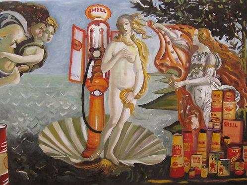 Naissance de Vénus by schell