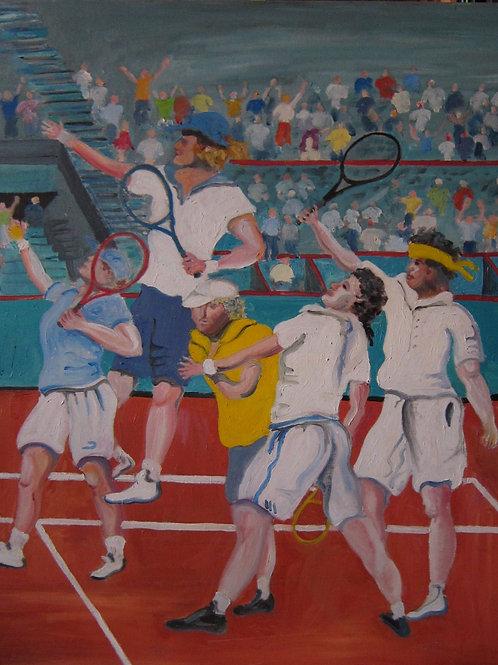 Serment du jeu de paume à Roland Garros