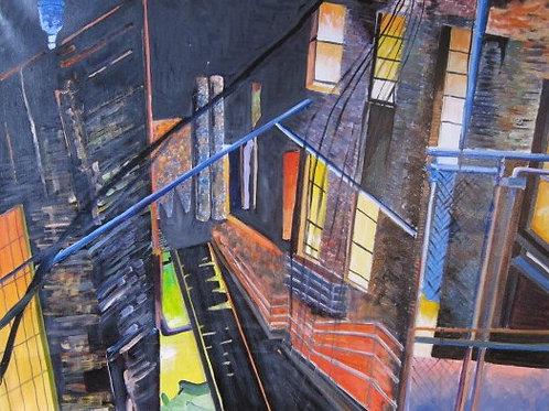 Escalier nuit