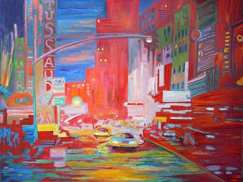 Tussaud NYC rouge