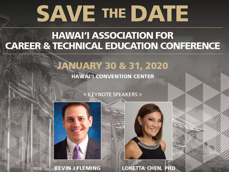 SAVE the DATE - January 30 & 31, 2020