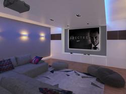 Malford Road - Cinema room