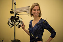 Dr. Heidi Calladine of Warrenton Eye Associates