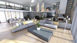 Salon - visuel 3D