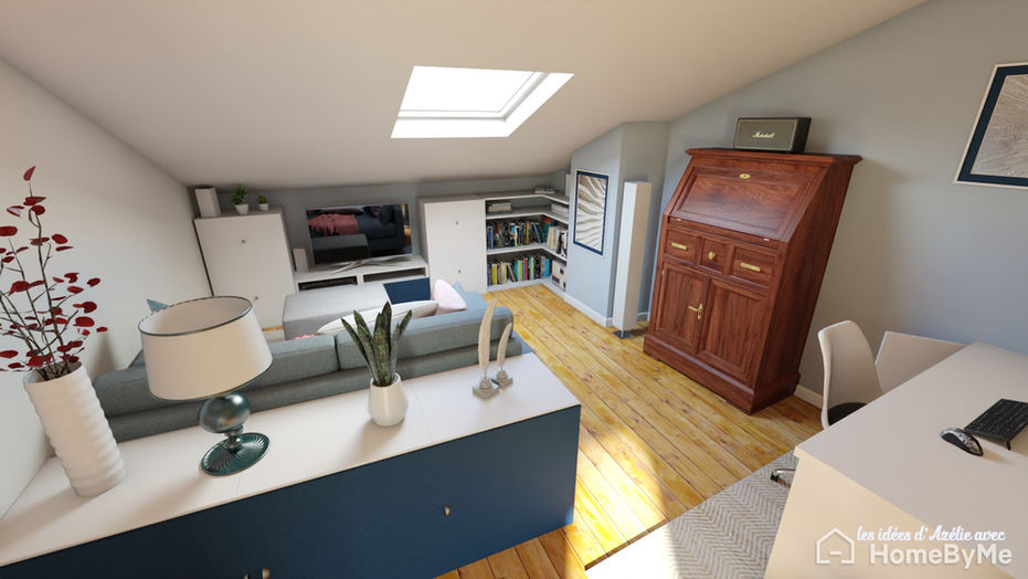 La pièce multifonction sous les toits